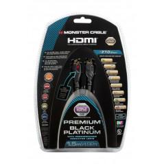 Przewód HDMI HS+Ethernet BLACK PLAT. PI