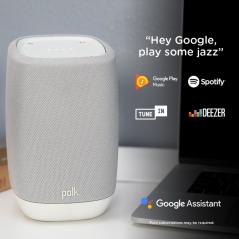 Smart Speaker with the Google Assistant Built-In ASSIST BLACK
