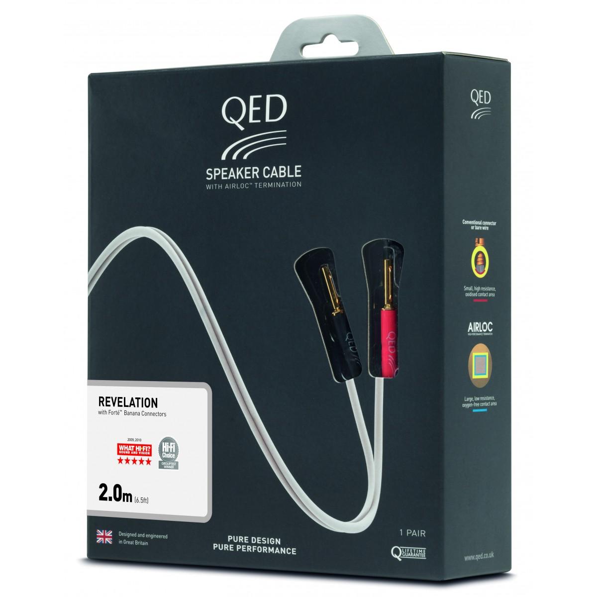 QED SIGNATURE Przewód głośnikowy REVELATION