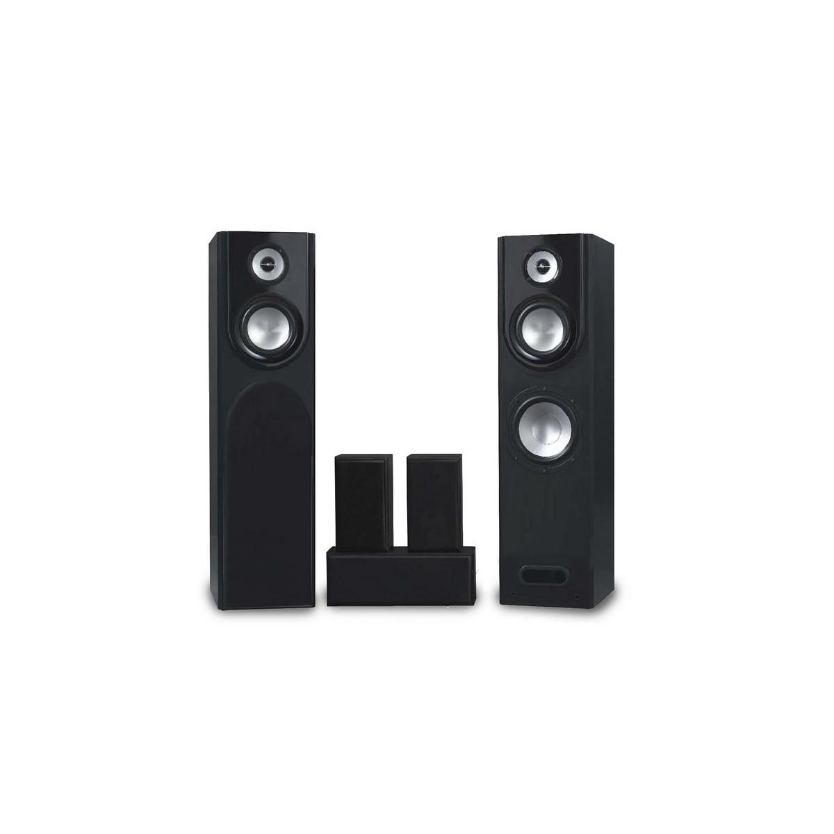 Zestaw kolumn głośnikowych 5.0 UTAH HCP