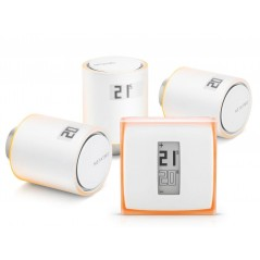 Zestaw Netatmo THERMOSTAT + 3X VALVES