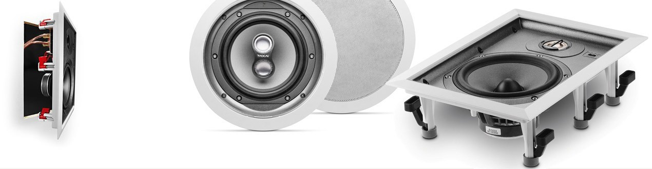 Adopted for internal mounting in-wall speakers are exceptionally practical and aesthetic supplementing of every sound system.
